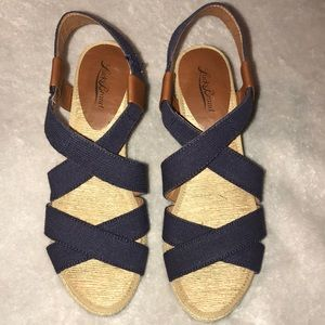 Lucky Brand wedges, never worn